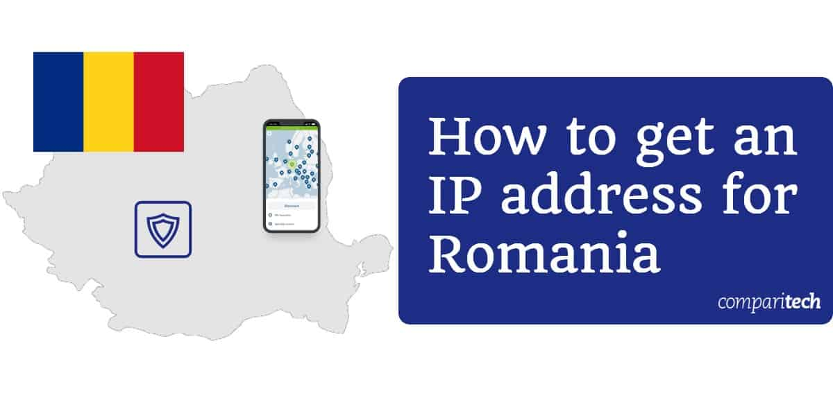 How to get an IP address for Romania