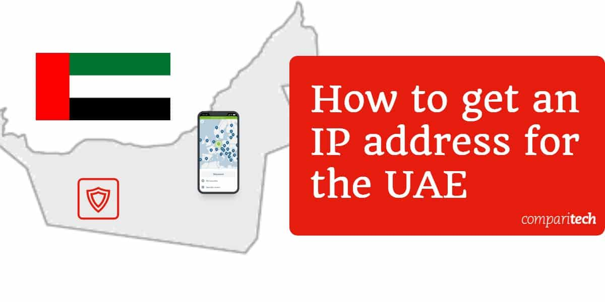 How to get an IP address for the UAE
