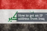 How to get an IP address for Iraq