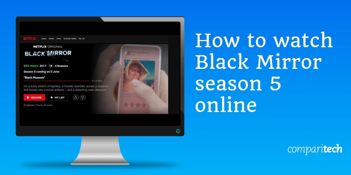 How to watch Black Mirror season 5 online