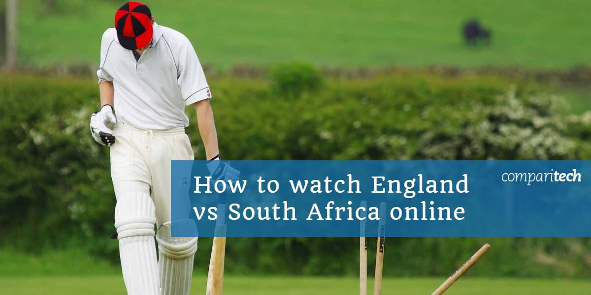 How to watch England vs South Africa online