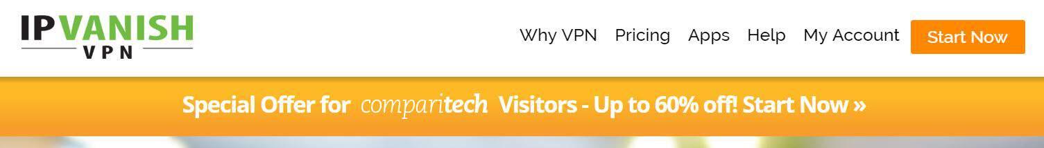 IPVanish Comparitech coupon code