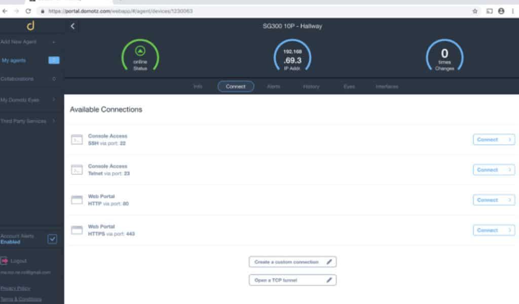 Domotz Pro screenshot