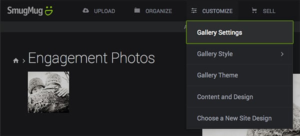 screenshot - smugmug