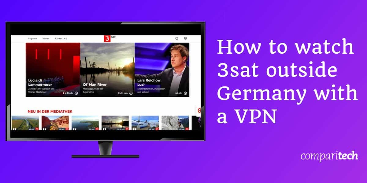 How to watch 3sat outside Germany with a VPN