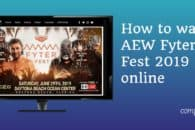How to watch AEW Fyter Fest 2019 live online