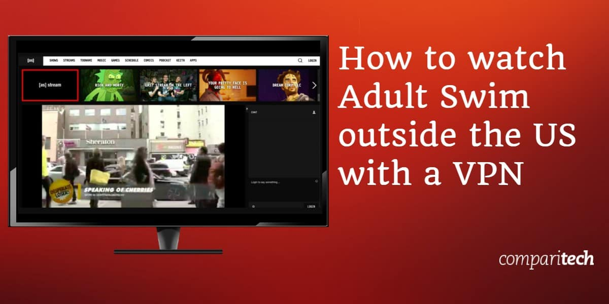 How to watch Adult Swim outside the US with a VPN