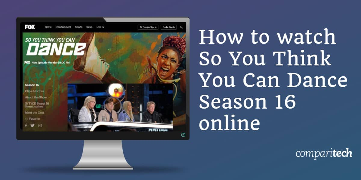 How to watch So You Think You Can Dance Season 16 online