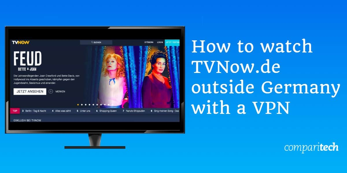 How to watch TVNow.de outside Germany with a VPN