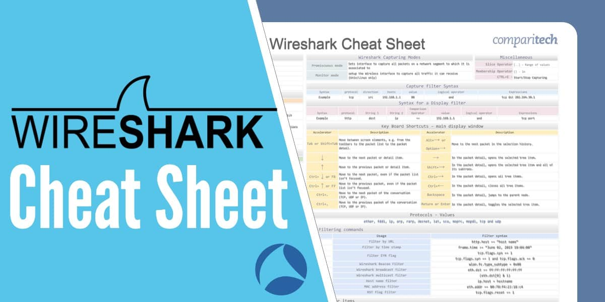 Wireshark Cheat Sheet - Essential Commands & Shortcuts