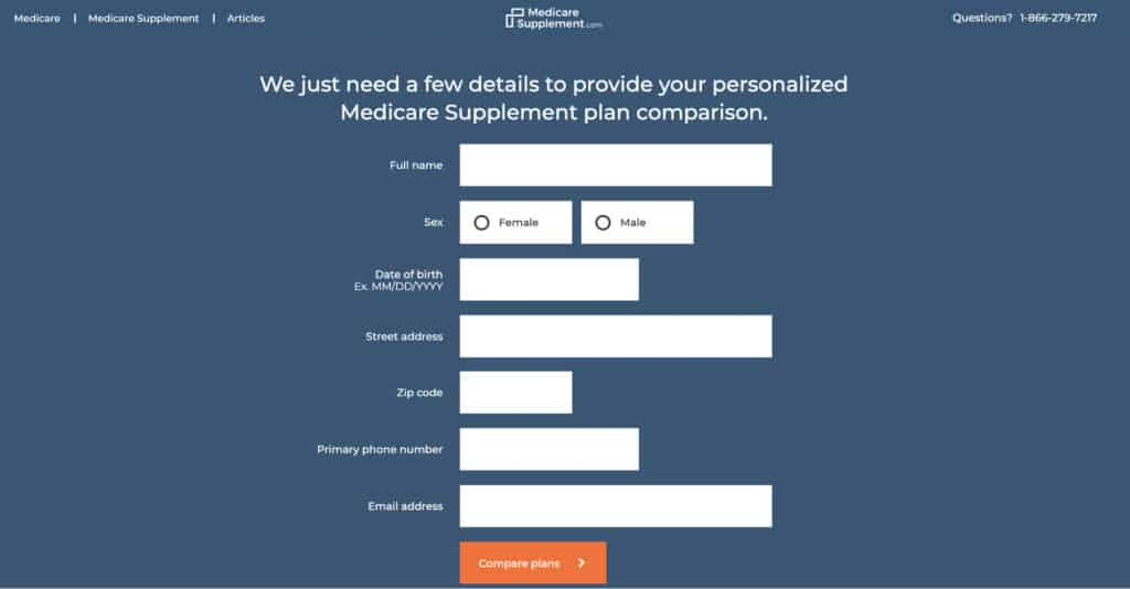 medicaresupplement form