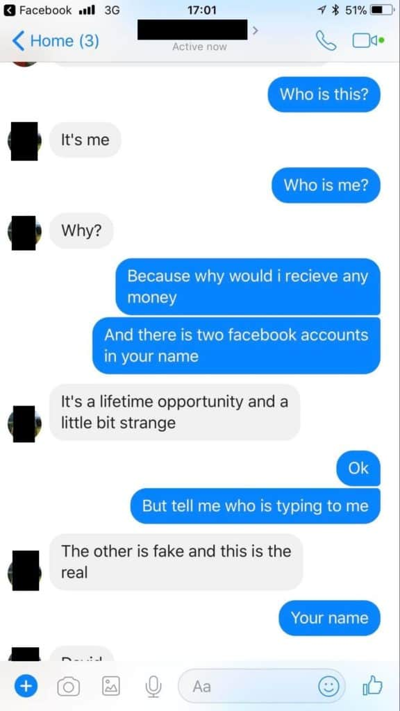 facebook duplicate account