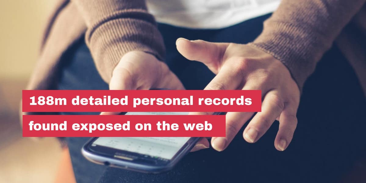 Report: Detailed personal records of 188 million people