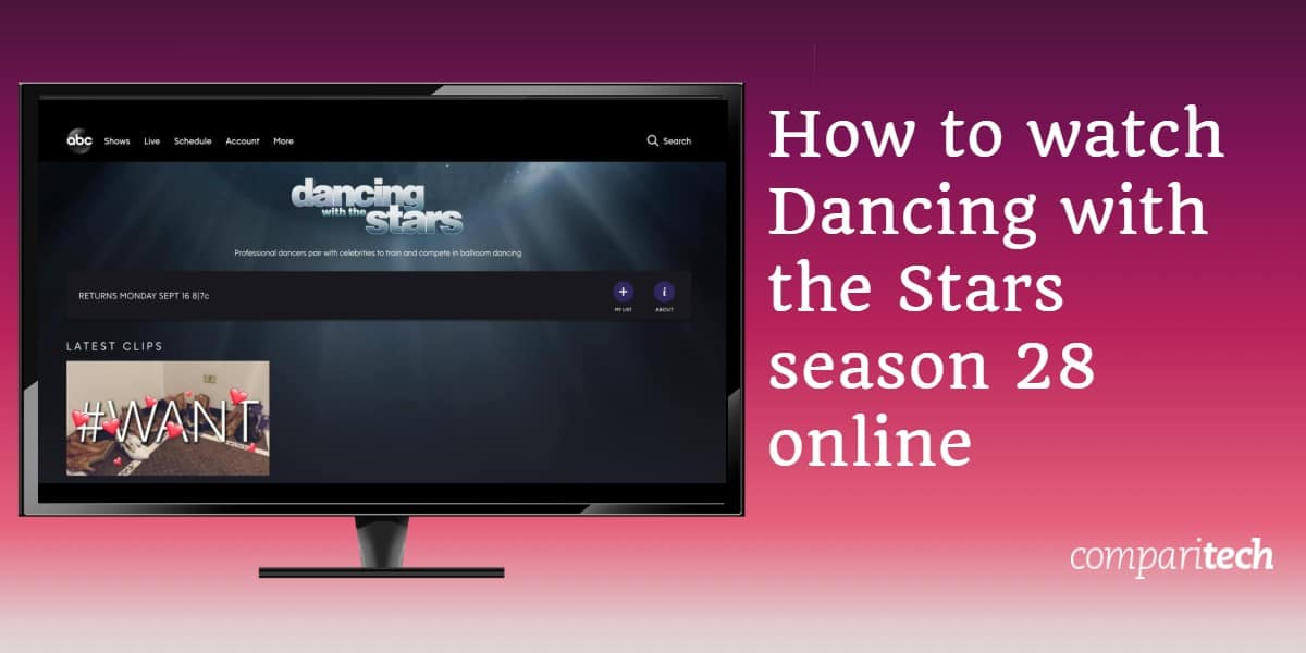 How to watch Dancing with the Stars season 28 online
