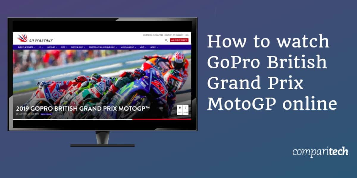 How to watch GoPro British Grand Prix MotoGP online