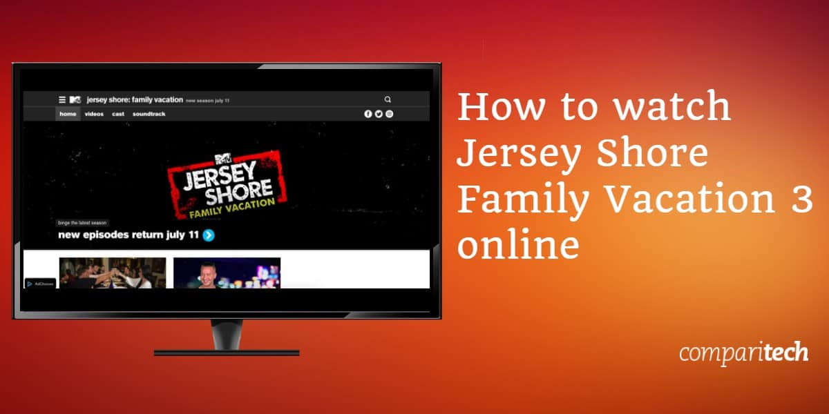 How to watch Jersey Shore Family Vacation 3 online (1)