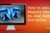 How to watch Maurice Hooker vs. Jose Ramirez live online