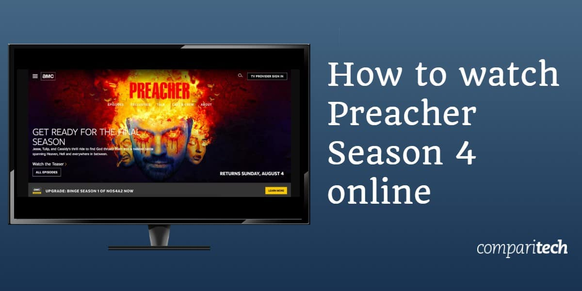 How to Watch Preacher Season 4 online abroad (outside US