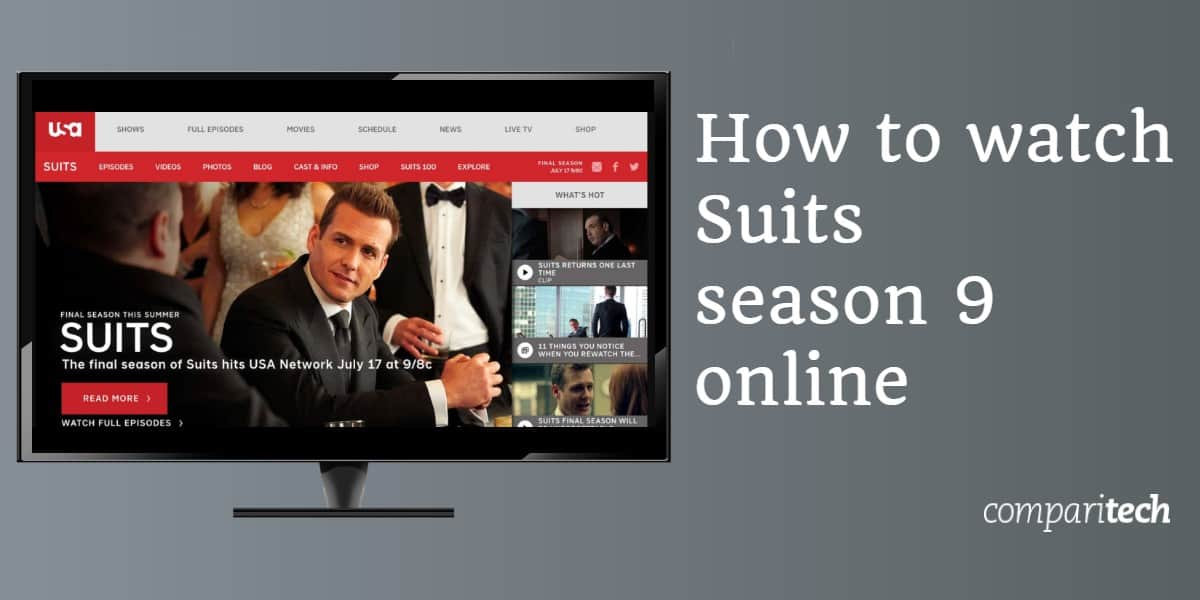 How to watch Suits season 9 online