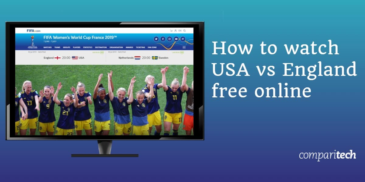 How to watch USA vs England free online