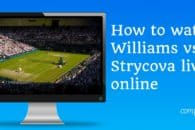 How to watch Williams vs Strycova live online free (women's semi-final)