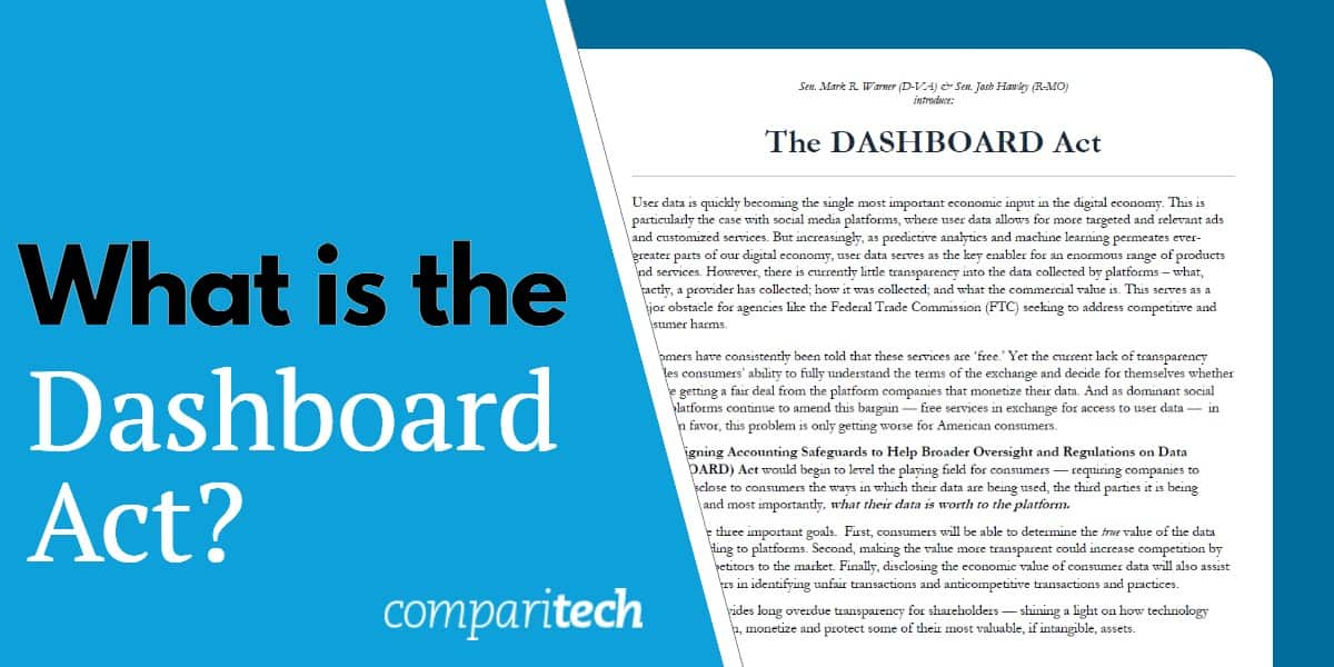 What is the Dashboard Act