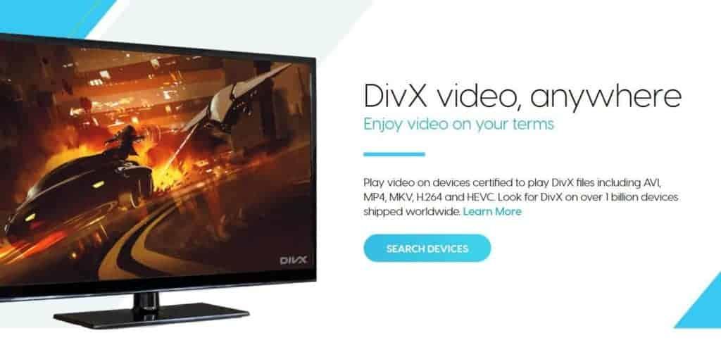 DivX video converter.