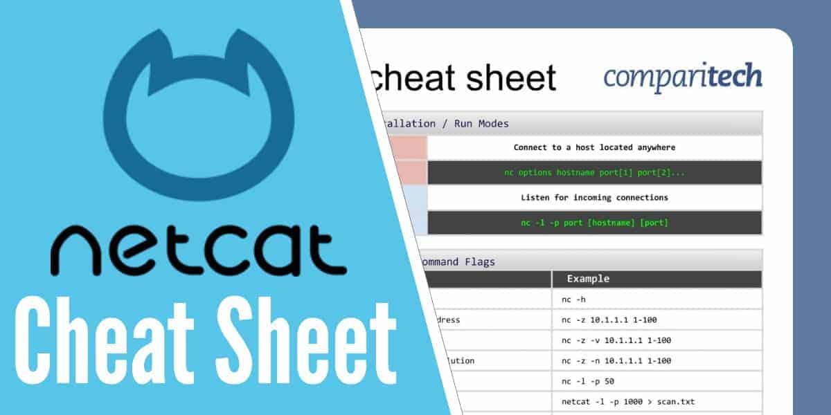 Netcat Cheat Sheet