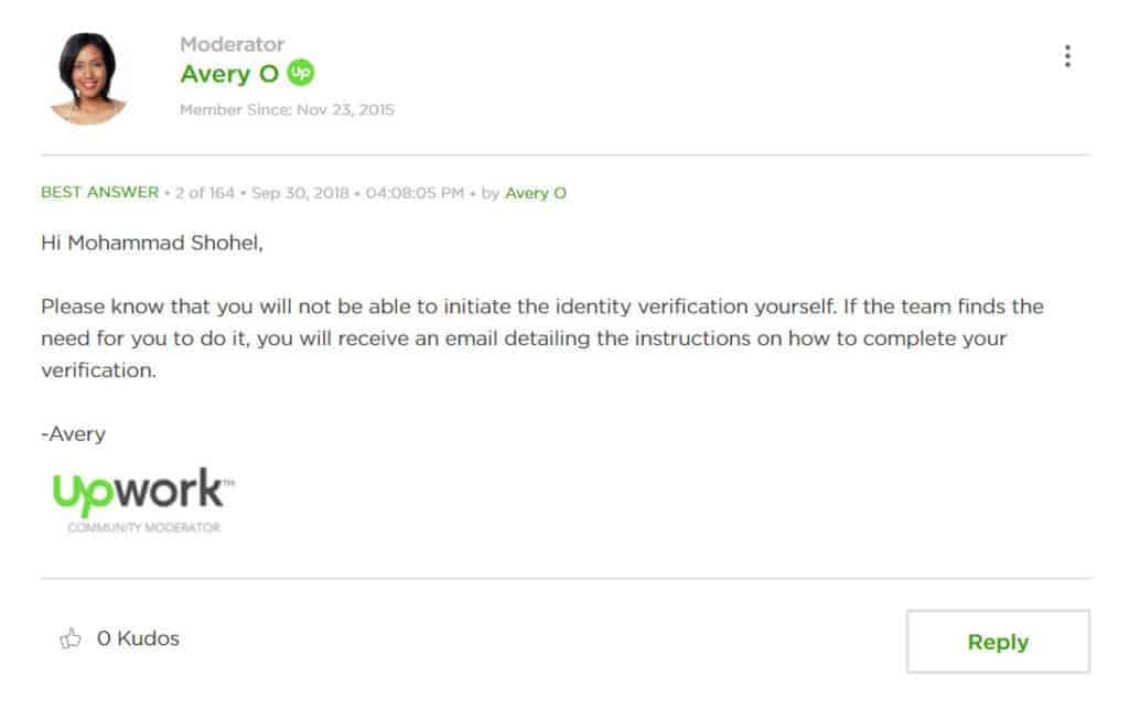 upwork account selling id verification