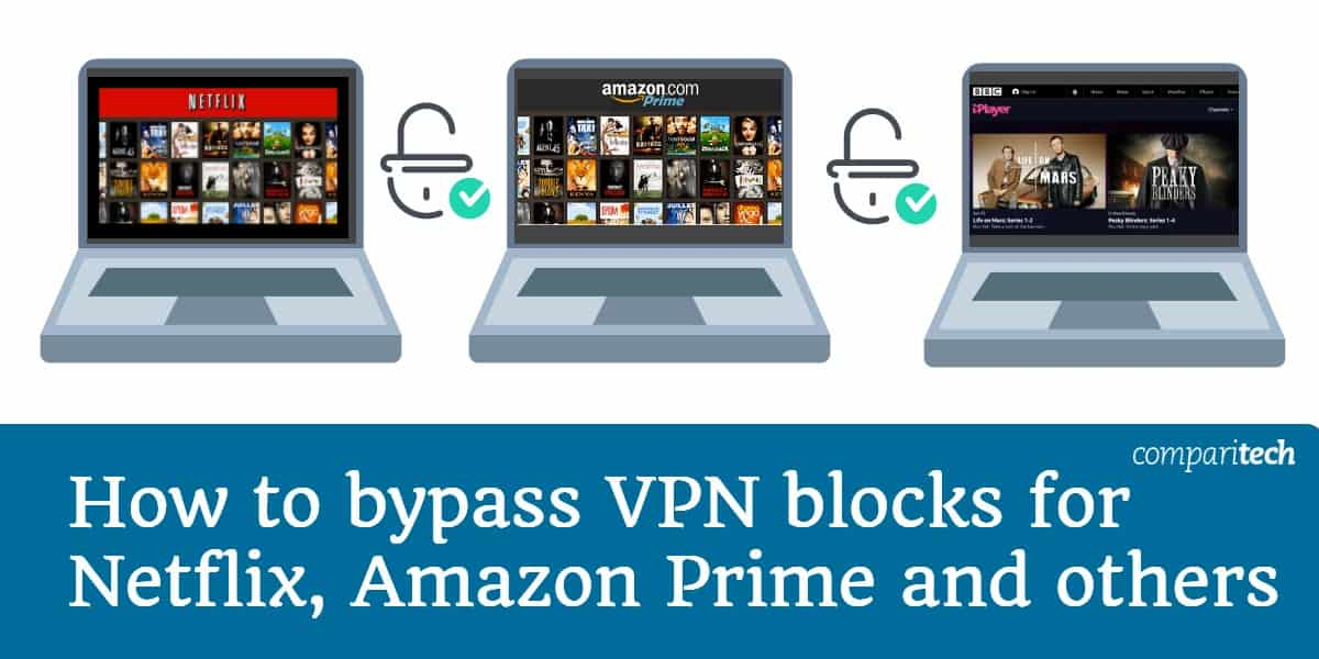How to bypass VPN blocks for Netflix, Amazon Prime, Hulu