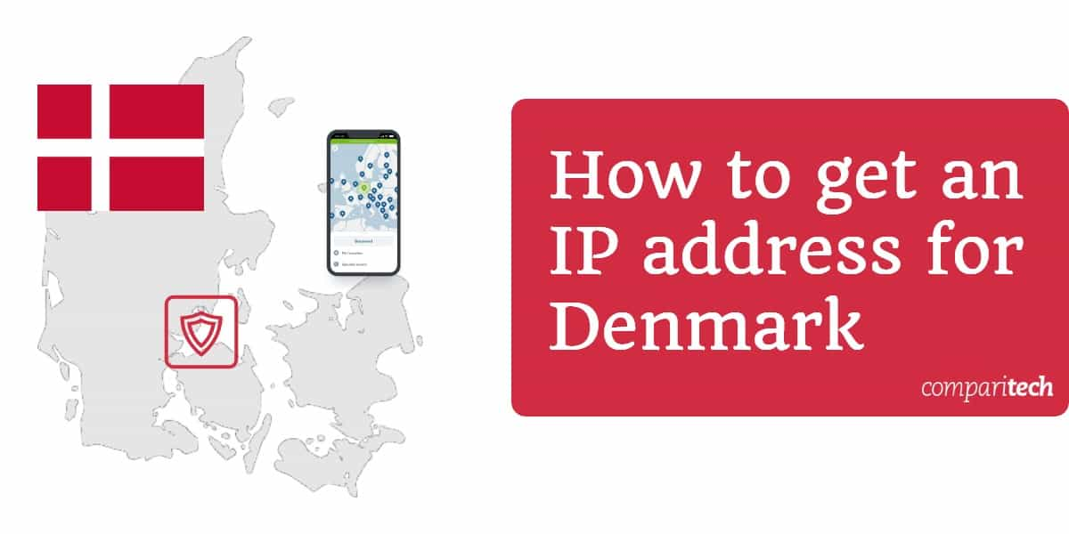 How to get an IP address for Denmark