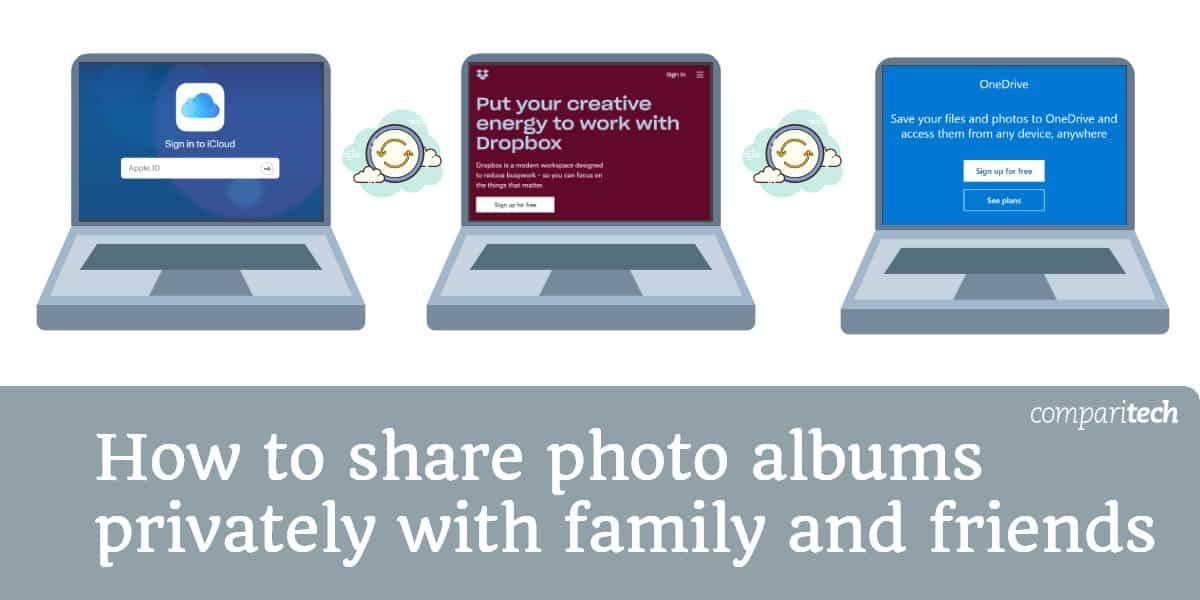How to share photo albums privately with family and friends (1)