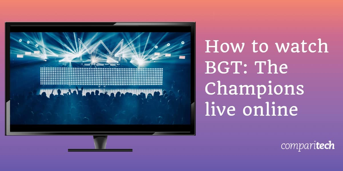 How to watch BGT The Champions live online