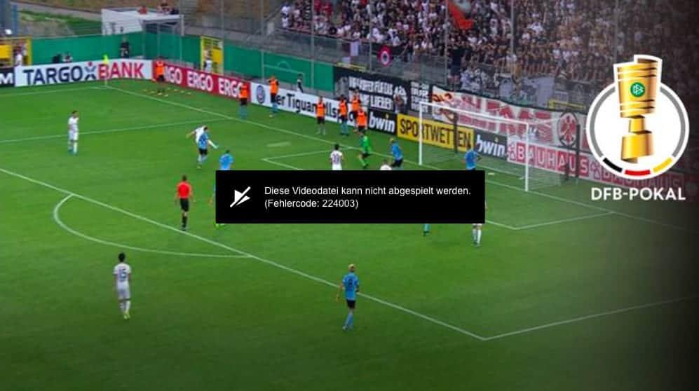 Sport1 streaming error