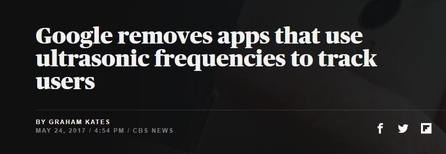 Headline about German Android study.