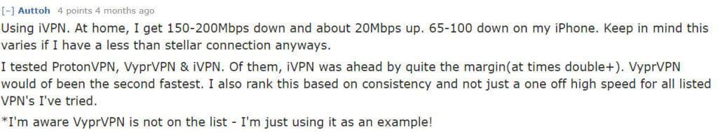 Reddit VPNs ivpn