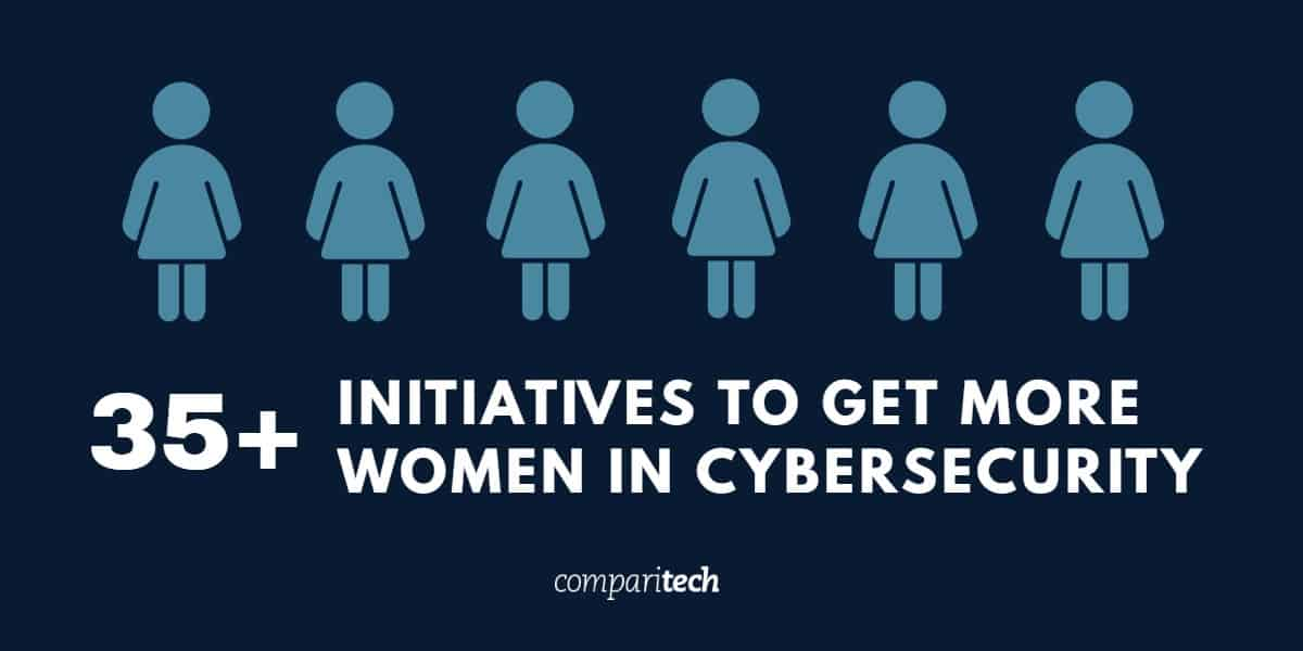 35 initiatives to get more women in cybersecurity