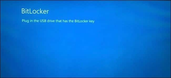 Bitlocker Startup Key