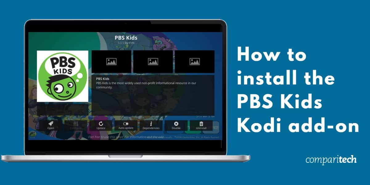 How to install the PBS Kids Kodi add-on