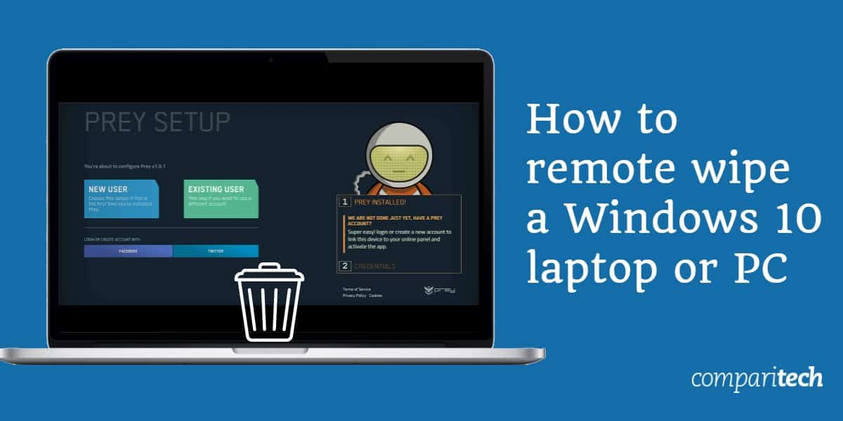 How to remote wipe a Windows 10 laptop or PC
