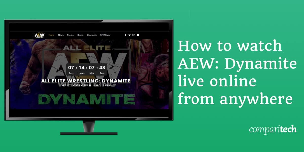 How to watch AEW - Dynamite live online from anywhere