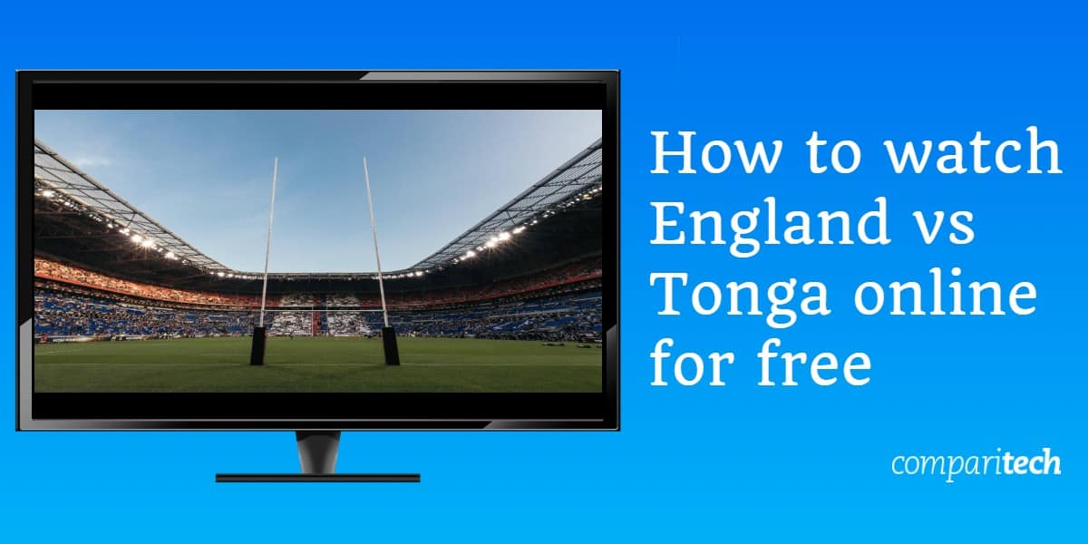 How to watch England vs. Tonga online for free