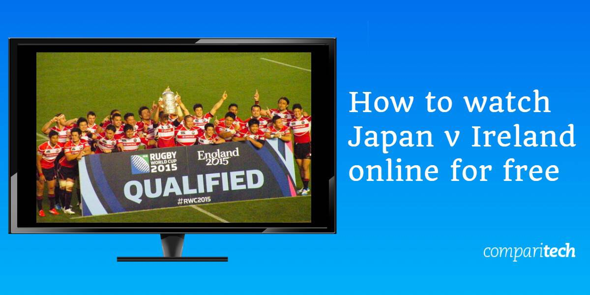 How to watch Japan v Ireland online for free