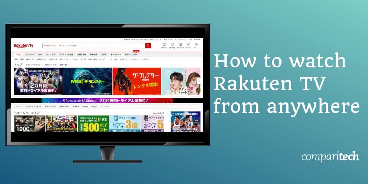 How Rakuten TV works