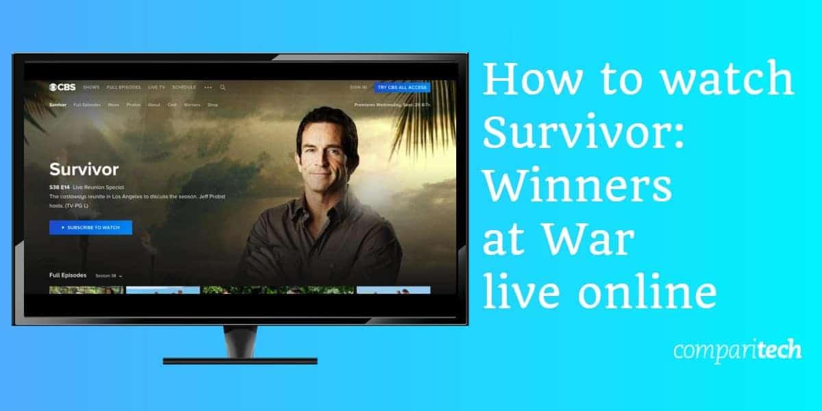 How to watch Survivor Winners at War live online