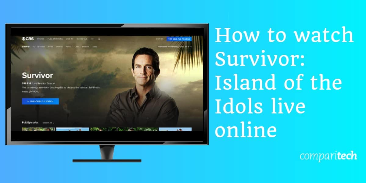 How to watch Survivor island of the idols live online
