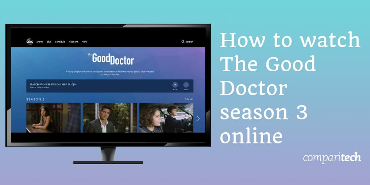 How to watch The Good Doctor season 3 online