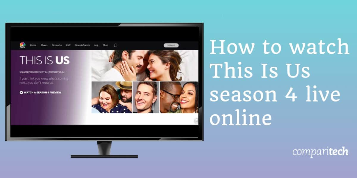 How to watch This Is US season 4 live online