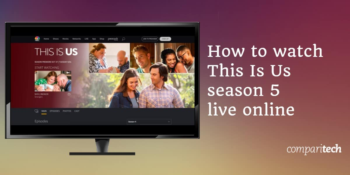 watch This Is Us season 5 live online