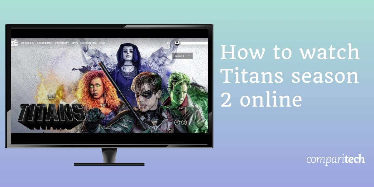 How to watch Titans season 2 online